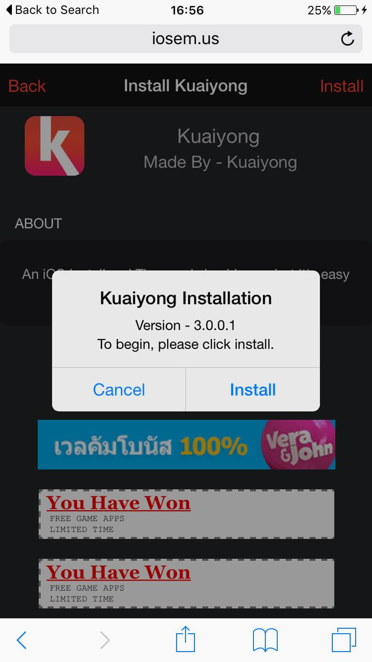 Download Kuaiyong on iOS 9/9.1 Get Paid Apps for Free!