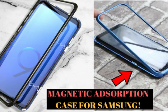 Magnetic Adsorption Case for Samsung Galaxy S9 / S8 & Plus Models